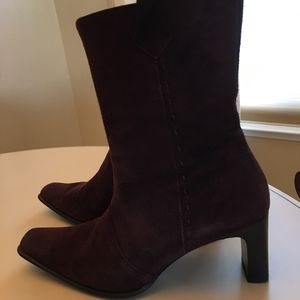Paul Green Brown Suede Boots
